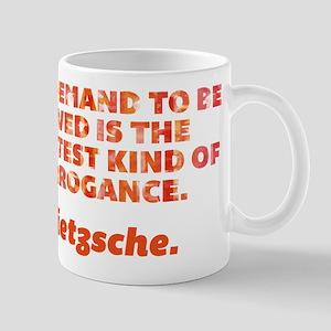 Demand To Be Loved Mug