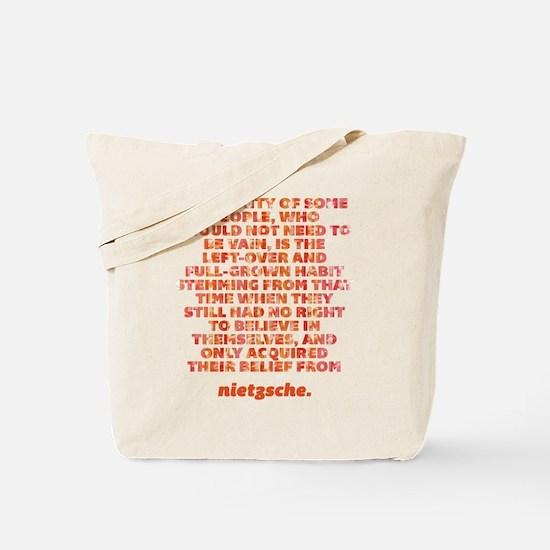 Vanity Of Some People Tote Bag