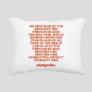 Principles And Dogmas Rectangular Canvas Pillow