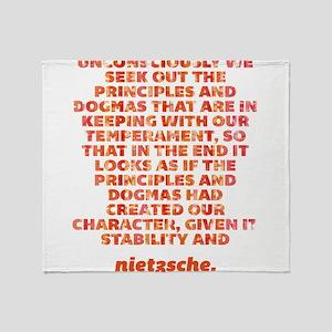 Principles And Dogmas Throw Blanket