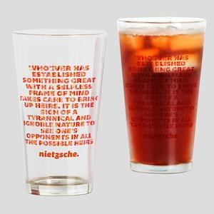 Established Something Great Drinking Glass