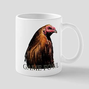 American Game Fowl. Mug