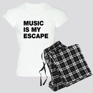 Music Is My Escape Women's Light Pajamas