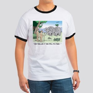 Elephants Pitying Nudists T-Shirt