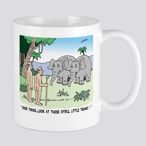 Elephants Pitying Nudists Mug