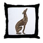Greyhound Sitting Pillow