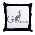 Greyhound Logo Pillow