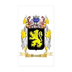 Bramall Sticker (Rectangle 50 pk)