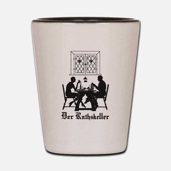 Der Rathskeller Shot Glass
