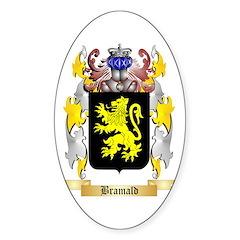 Bramald Sticker (Oval 10 pk)