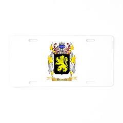 Bramald Aluminum License Plate