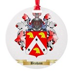 Braham Round Ornament