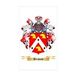 Braham Sticker (Rectangle 50 pk)