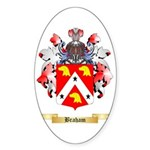 Braham Sticker (Oval 50 pk)
