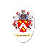 Braham 35x21 Oval Wall Decal