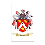Braham 35x21 Wall Decal