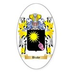Brady Sticker (Oval 10 pk)