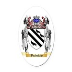 Bradshaw Oval Car Magnet