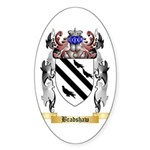 Bradshaw Sticker (Oval 10 pk)