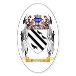 Bradshaw Sticker (Oval 50 pk)