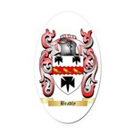 Bradly Oval Car Magnet