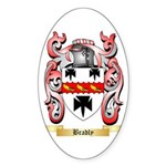Bradly Sticker (Oval 50 pk)