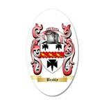 Bradly 20x12 Oval Wall Decal
