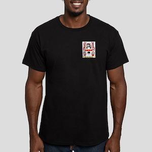 Bradley Men's Fitted T-Shirt (dark)