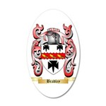 Bradley 20x12 Oval Wall Decal