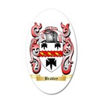 Bradley 35x21 Oval Wall Decal