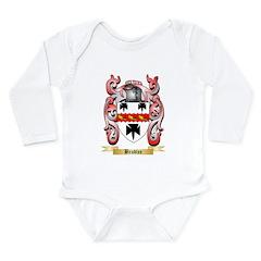 Bradlee Long Sleeve Infant Bodysuit