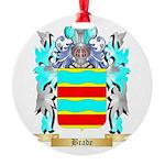 Brade Round Ornament