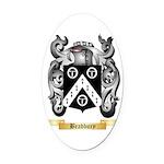 Bradbury Oval Car Magnet