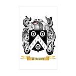 Bradbury Sticker (Rectangle 50 pk)