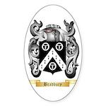 Bradbury Sticker (Oval 50 pk)