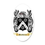 Bradberry Oval Car Magnet