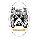 Bradberry Sticker (Oval 10 pk)