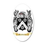 Bradberry 35x21 Oval Wall Decal
