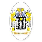 Bradan Sticker (Oval 50 pk)
