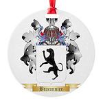 Braconnier Round Ornament