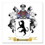 Braconnier Square Car Magnet 3