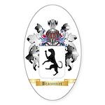 Braconnier Sticker (Oval 50 pk)