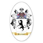 Brackner Sticker (Oval)