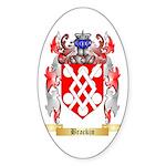 Brackin Sticker (Oval 10 pk)