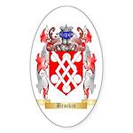 Brackin Sticker (Oval 50 pk)