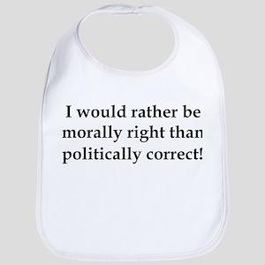 Anti Obama politically correct Bib