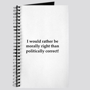 Anti Obama politically correct Journal