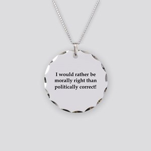 Anti Obama politically correct Necklace