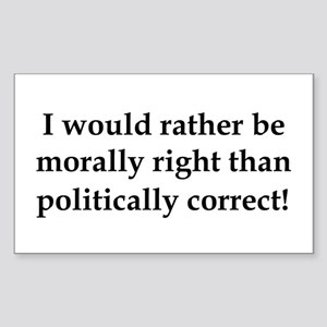 Anti Obama politically correct Sticker