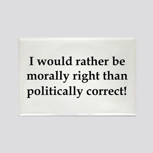 Anti Obama politically correct Rectangle Magnet